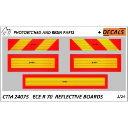 CTM 24075 ECE R 70 Reflective boards