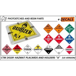 CTM 24109 HAZMAT holders and placards