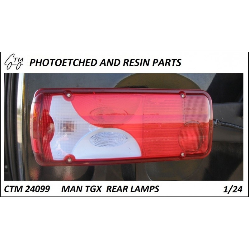 CTM 24099 MAN TGX rear lamps