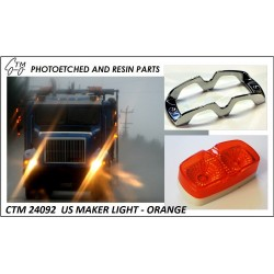 CTM 24093 US marker lights - orange
