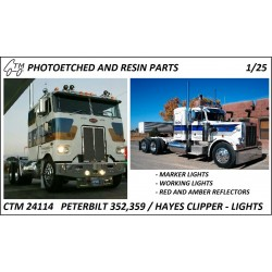 CTM 24114 Peterbilt/Hayes lights
