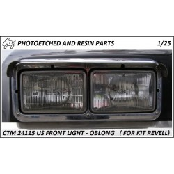CTM 24115 US front lights - oblong 1/25