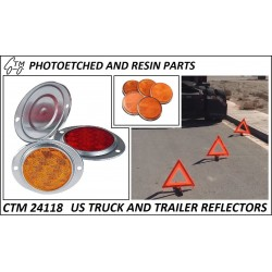 CTM 24118 US truck and trailer reflectors
