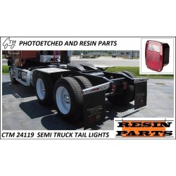 CTM 24119 Semi truck tail lights