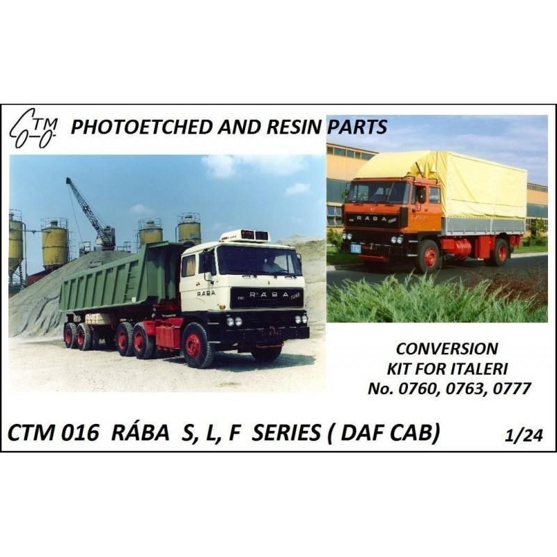 CTM 016 RÁBA S,L,F SERIES (DAF cab)