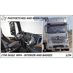 CTM 24162 MP4 Interior and badges