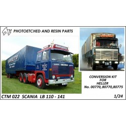 CTM 022 SCANIA LB 110 - 141 DETAIL SET