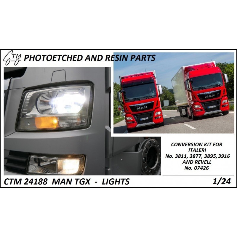 CTM 24188 MAN TGX LIGHTS