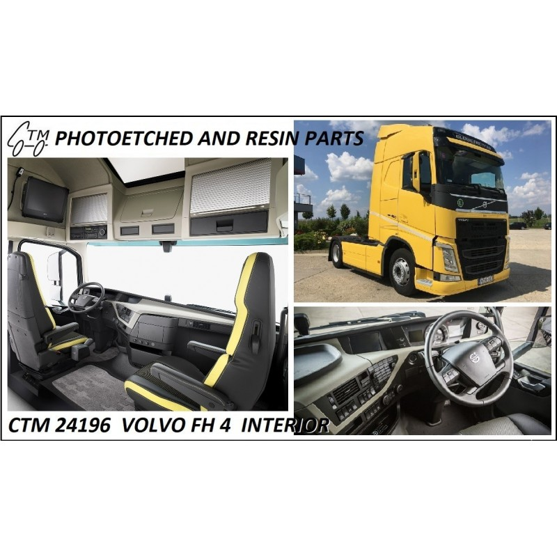 CTM 24198  Volvo FH 4 interior COMMING SOON