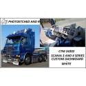 CTM 24202 Scania 3 and 4 series dashboard custom white