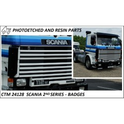 CTM 24128 Scania 2nd series badges