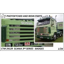 CTM 24129 Scania 3rd series badges