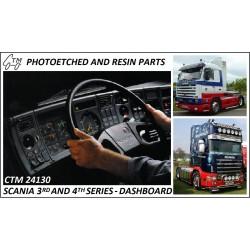CTM 24130 SCANIA 3rd and 4th series dashboard (LHD+RHD)
