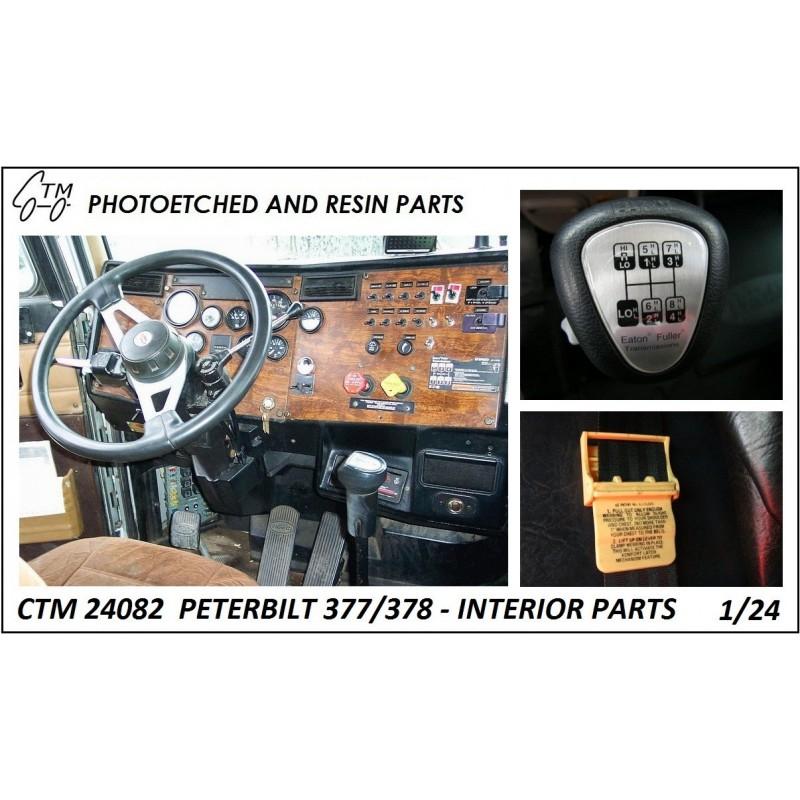 CTM 24082 Peterbilt 377/378 interior parts