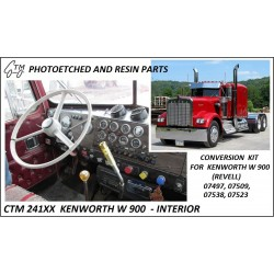 CTM 24102 Kenworth W900 interior