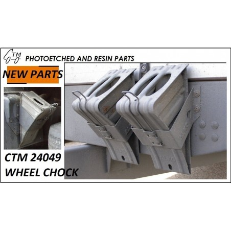 CTM 24049 Wheel chocks