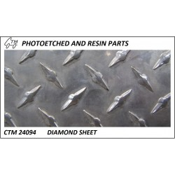 Diamond sheet catwalk