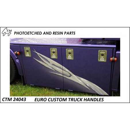 CTM 24043 Euro custom truck toolbox handles