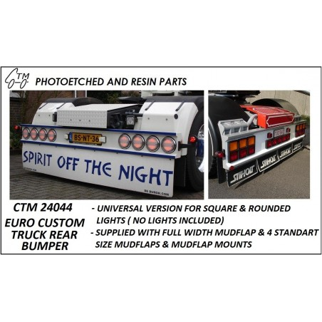 CTM 24044 Euro custom truck rear bumper