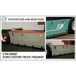 CTM 24058 Euro custom truck toolbox