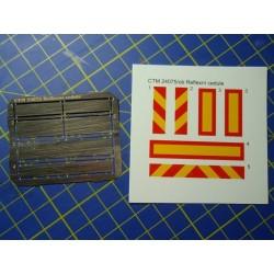 CTM 24075 ECE R 70 Reflective boards