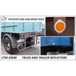 CTM 24098 Truck and trailer reflectors