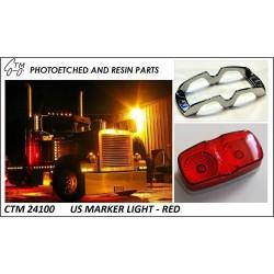 CTM 24100 US marker lights - red