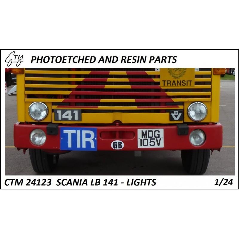 CTM 24123 Scania LB 141 lights