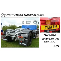 CTM 24124 70's European tail lights