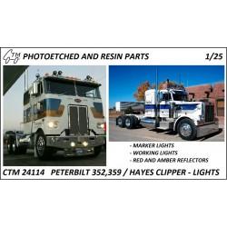 CTM 24114 Peterbilt/Hayes lights