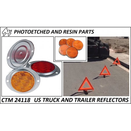 CTM 24118 US truck and trailer reflectors