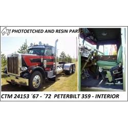CTM 24153 '67 - '72 Peterbilt 359 interior