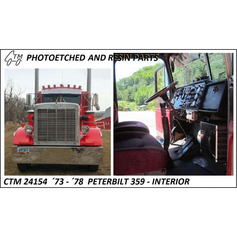 CTM 24154 '73 - '78 Peterbilt 359 Interior