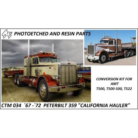 CTM 034 67' - 72' Peterbilt California hauler