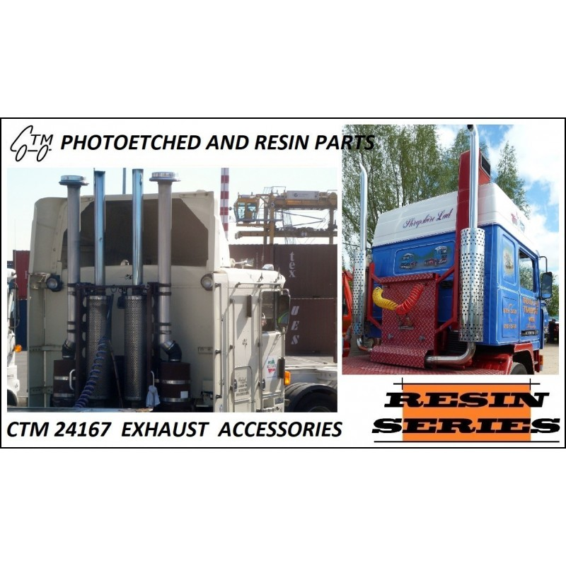 CTM 24167 EXHAUSTS - US/EUR UPRIGHT STACKS