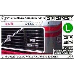 CTM 24122 VOLVO F series MK.II and MK.III badges