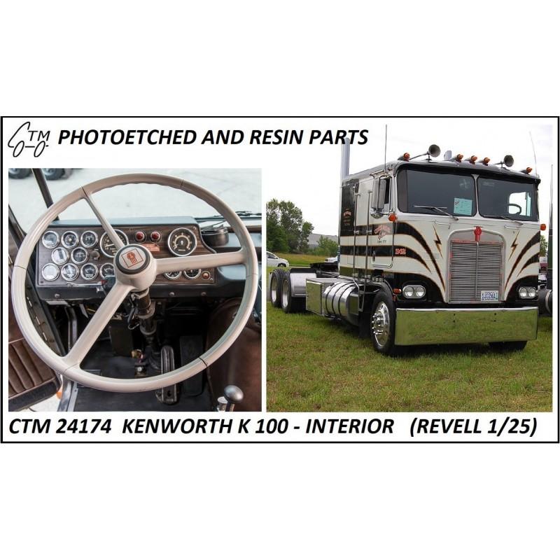 CTM 24174 Kenworth K100 (Revell) interior