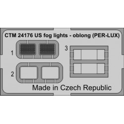 CTM 24168 US FOR LIGHTS (PER-LUX) ROUNDED