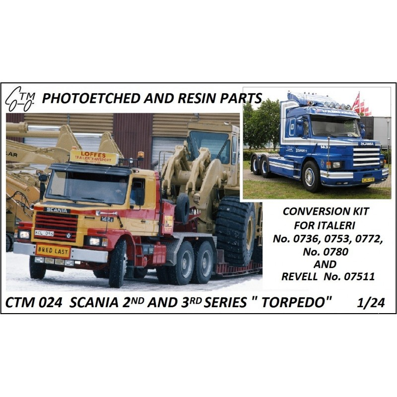 CTM 024 SCANIA 2nd and 3rd SERIES TORPEDO
