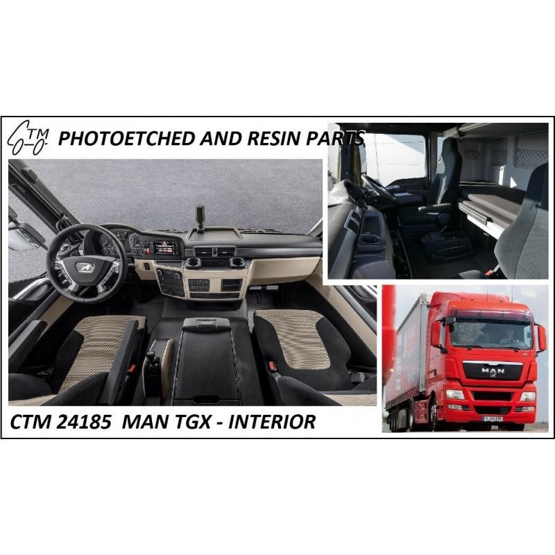 CTM 24185 MAN TGX INTERIOR