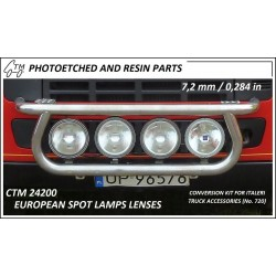 CTM 2400 European spot lamps lenses