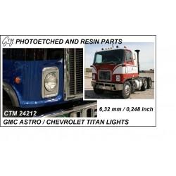 CTM 24212 GMC Astro / Chevrolet Titan lights