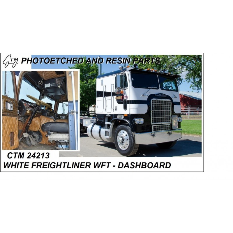 CTM 24213 White Freightliner WFT dashboard