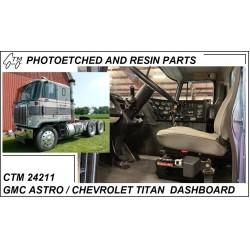 CTM 24211 GMC Astro / Chevrolet Titan dashboard