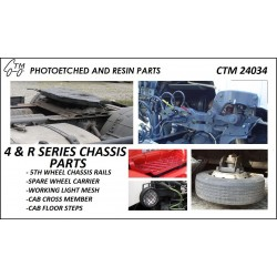CTM 24034 4 & R SERIES CHASSIS PARTS
