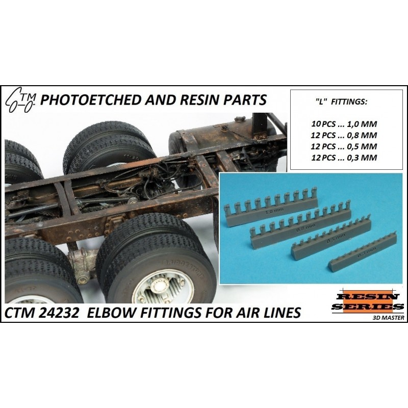 CTM 24232 ELBOW FITTINGS FOR AIR LINES