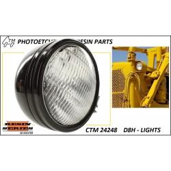 CTM 24248 D8H dozer lights