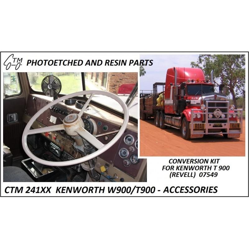 CTM 24103 Kenwort T900 Autralian interior