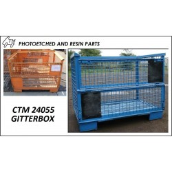 TRAILER OR TRUCK CHASSIS TOOL BOX   1//24-1//25 SCALE   CTM 24058
