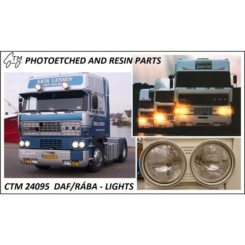 CTM 24095 DAF/RÁBA lights